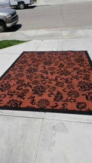 Large outdoor patio rug