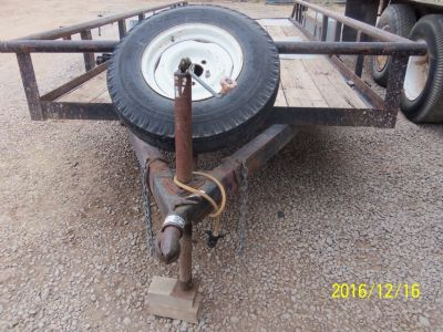 Flatbed Utility Pole Trailer