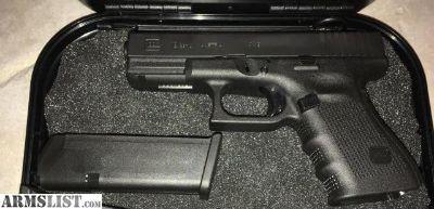 For Sale: Glock 19 GEN 4 , 2 mags, original box $435