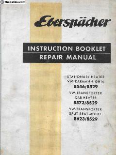 1964? Eberspacher Instruction/Repair Manual 5 Page