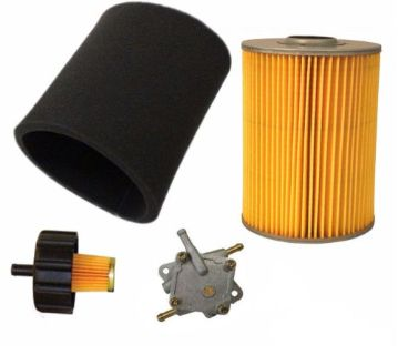 Find YAMAHA G2 G9 G11 4 CYCLE 85-94 GAS GOLF CART TUNE UP KIT AIR FILTER FUEL NEW motorcycle in Lapeer, Michigan, United States, for US $92.41