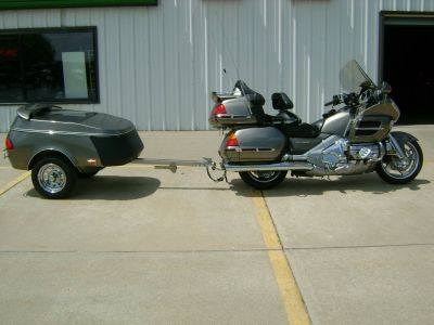 2004 Honda GOLD WING 1800 WITH TRAILER Street Motorcycle Freeport, IL