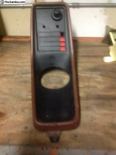 Rare center console with mic
