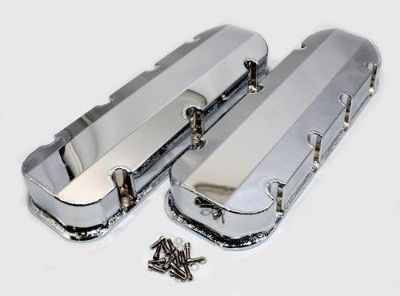 Buy Big Block Chevy 396 427 454 Chrome Valve Covers Fabricated Aluminum No-Hole BBC motorcycle in Story City, Iowa, United States, for US $110.99