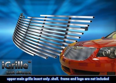 Find Fits 2004-2008 Chrysler Crossfire Stainless Steel Billet Grille Grill Insert motorcycle in Ontario, California, United States