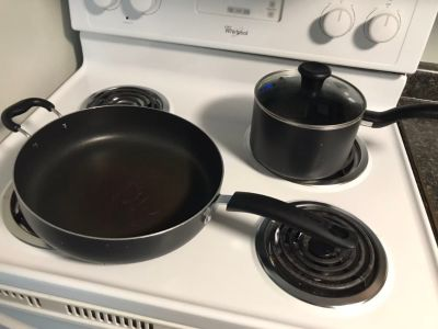 Kitchen pot and pan