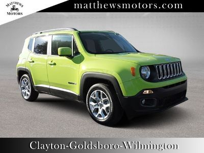 2018 Jeep Renegade Latitude 2WD (Hypergreen Clearcoat)