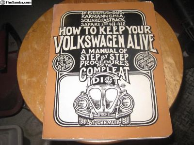 1985 Ed. John Muir Idiot Repair Manual NICE