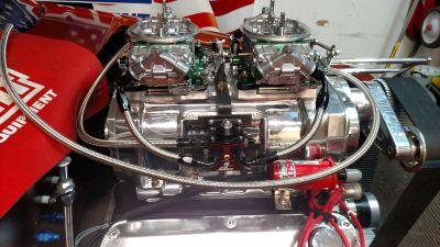 950cfm E85 blower carbs