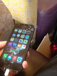 Used iPhone 5 Verizon , immediate sell, screen cracked , Make offer NOW