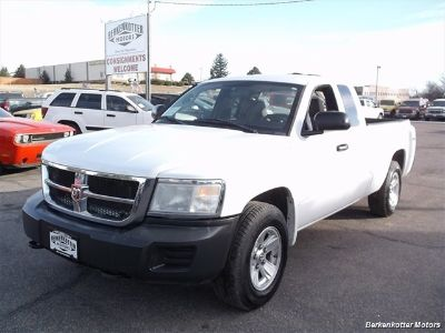 2008 Dodge Dakota SXT (Bright White Clear Coat)