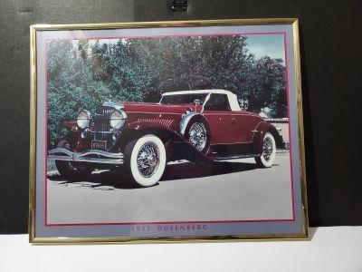 "1932 Dusenberg Print W 20 1/8"" H 16 1/8"""