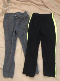 Size 6/7 and 7 comfy pants