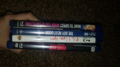 Lot of blue ray
