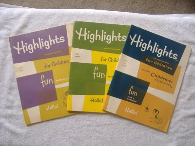 1964 HIGHLIGHTS Magazine Lot *Unused*