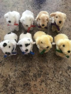 Crank-able puppy dogs