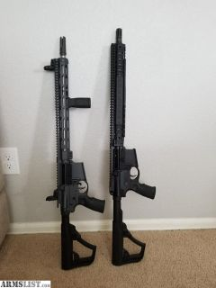 For Sale: 2 AR-15's for sale, 1 build and 1 Daniel defense M4V9