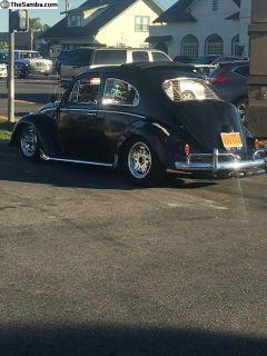 61 VW Bug Rag Top