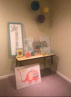 Adorable Decorations for Child s Room (14 piece set)
