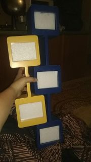 Two decorative picture frames