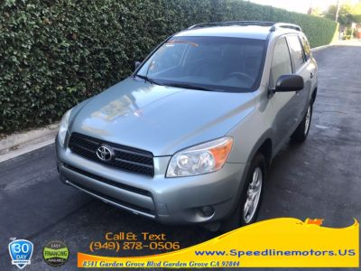 2007 Toyota RAV4 Base (Pacific Blue Metallic)
