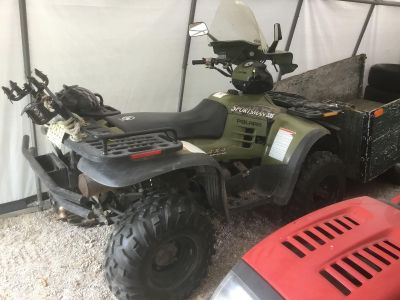 Looking for a electric golf cart, willing to trade for quad