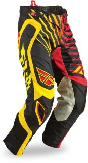 Find Fly Racing 2013 Evolution Sonar Red Black Yellow Mens Dirt Bike Pants MX motorcycle in Ashton, Illinois, US, for US $134.95