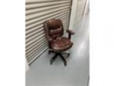 Brown Leather Office-style Chair