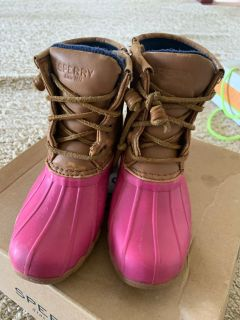 Sperry boots size 12