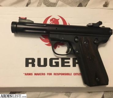 For Sale/Trade: Ruger 22/45 lite mark III 2.5lbs trigger