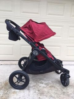 Baby Jogger City Select Stroller + Pram + 2nd seat + Cup console