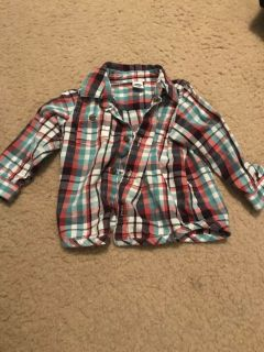 12-18 month old navy shirt