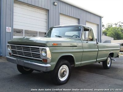 1969 Ford F100 Contractor Special 4X4 Custom (Green)