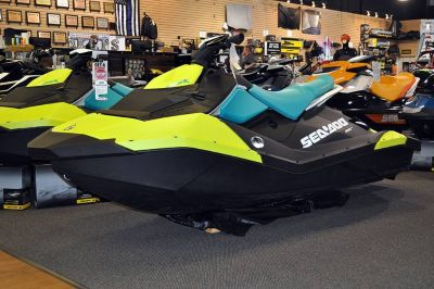 2018 Sea-Doo SPARK 3up 900 H.O. ACE iBR & Convenience Package Plus 3 Person Watercraft Elk Grove, CA