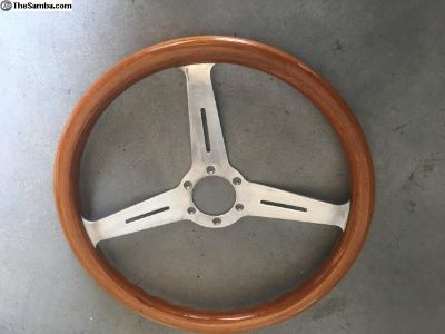 Porsche 356 Wood Steering Wheel made in Italy