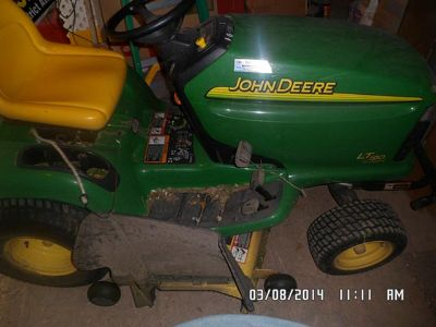 $1,500, John Deere LT 190 riding mower for sale
