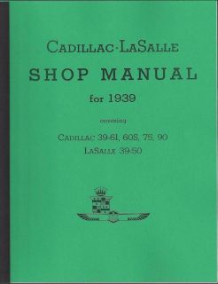 Purchase Cadillac 1939 La Salle Shop Repair Service Manual - NEW motorcycle in Framingham, MA, US, for US $14.99