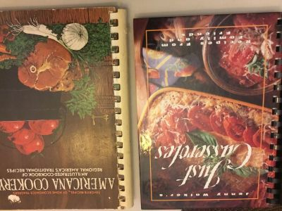 Cookbooks 2.00 each will not meet for less than 5.00 and Dawes Walmart only