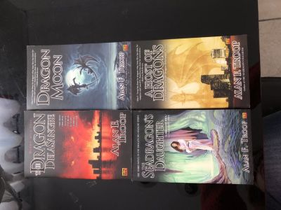 The dragon delasangre series