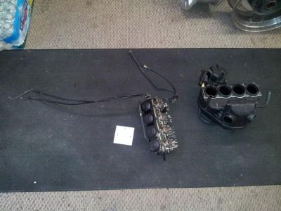 Sell 2000 Yamaha YZFR6 CARBURETORS CARBS AIR BOX INTAKE Assembly Setup motorcycle in Crestline, Ohio, US, for US $299.99