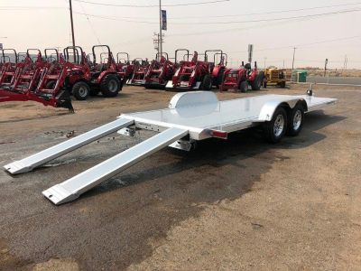 7x18 Aluminum Race Car Hauler, Featherlite Car Hauler 3182-0018