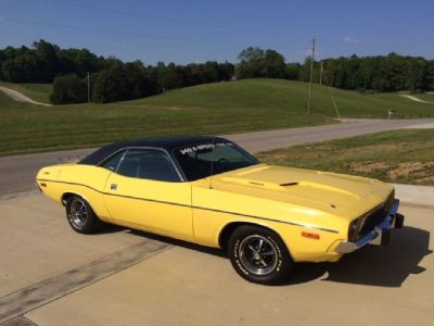 1973 Dodge Challenger Sharp Rare Find Look!