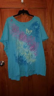 Butterfly Plus Size Shirt