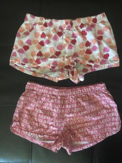Sleep Lounge Shorts Juniors Size XS Great Condition both for $3.00