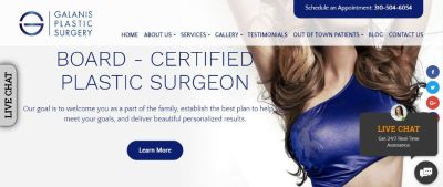 Galanis Plastic Surgery, Beverly Hills CA Plastic Surgeon
