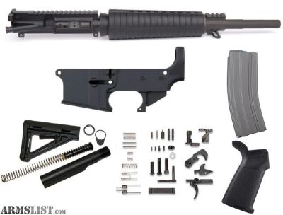 For Sale: 80% AR15 ALEXANDER ARMS 50 BEOWULF COMPLETE RIFLE BUILD KIT