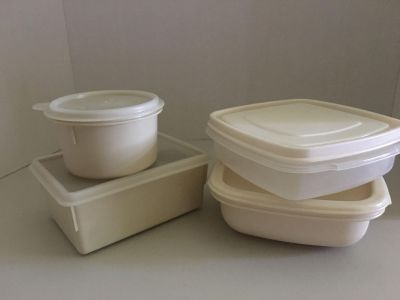 Mixed Lot of Rubbermaid and Eagle Containers