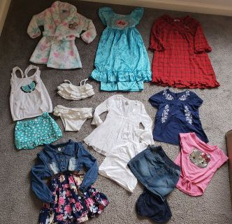 2T Toddler Girls Clothes Lot