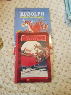 Kids Christmas Books! - Rudolph The Red Nosed Reindeer & The Night Before Christmas!