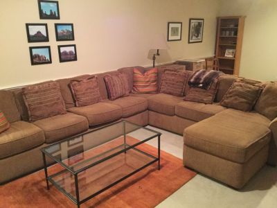 Large sectional - good condition